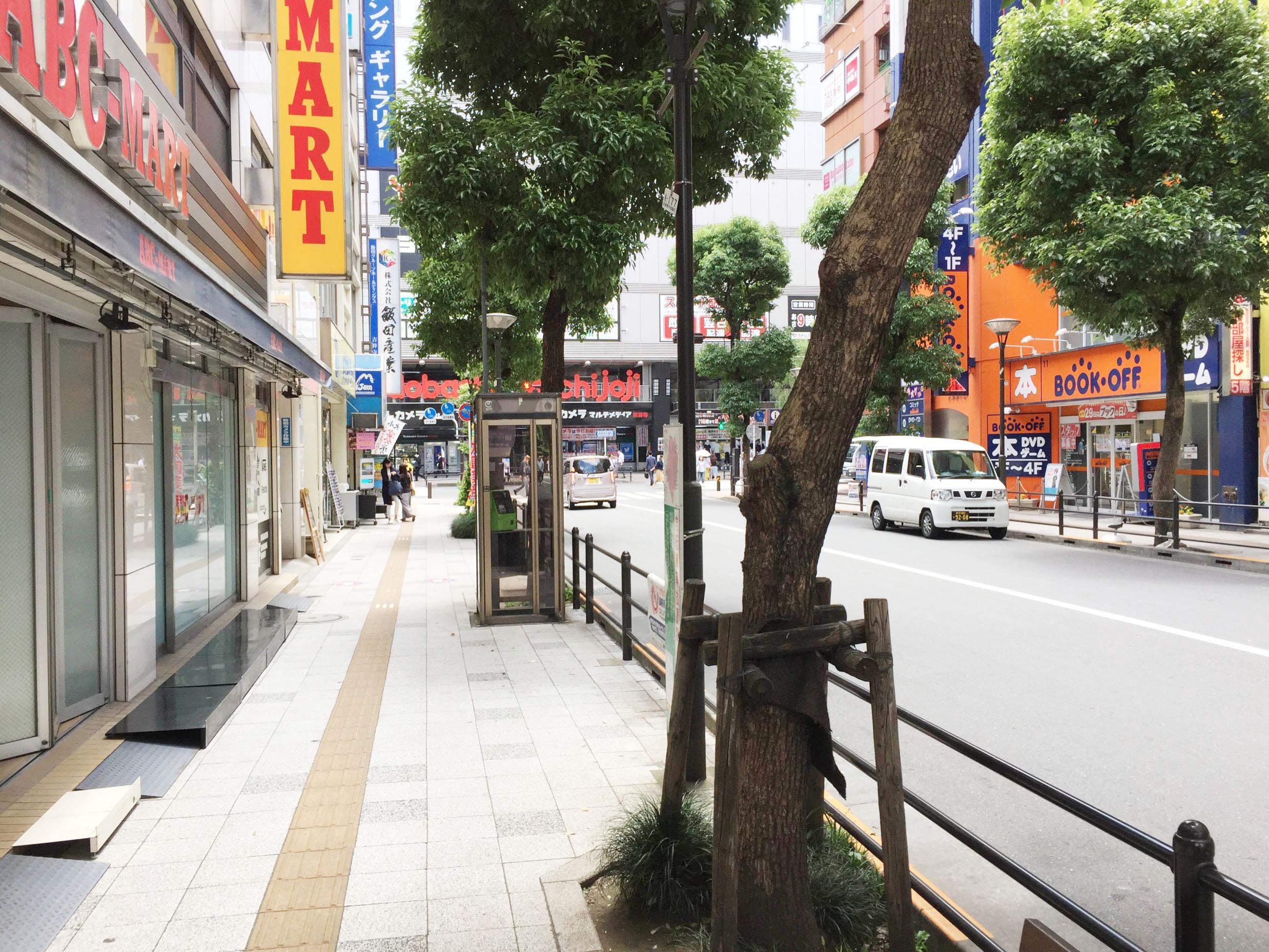 吉祥寺の道